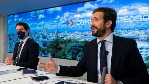 Casado anuncia que el PP deja la sede de Génova para romper con el pasado