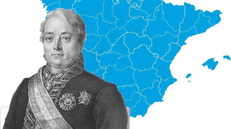 Cómo se dibujaron las provincias en España: los cartógrafos del s. XIX son insuperables