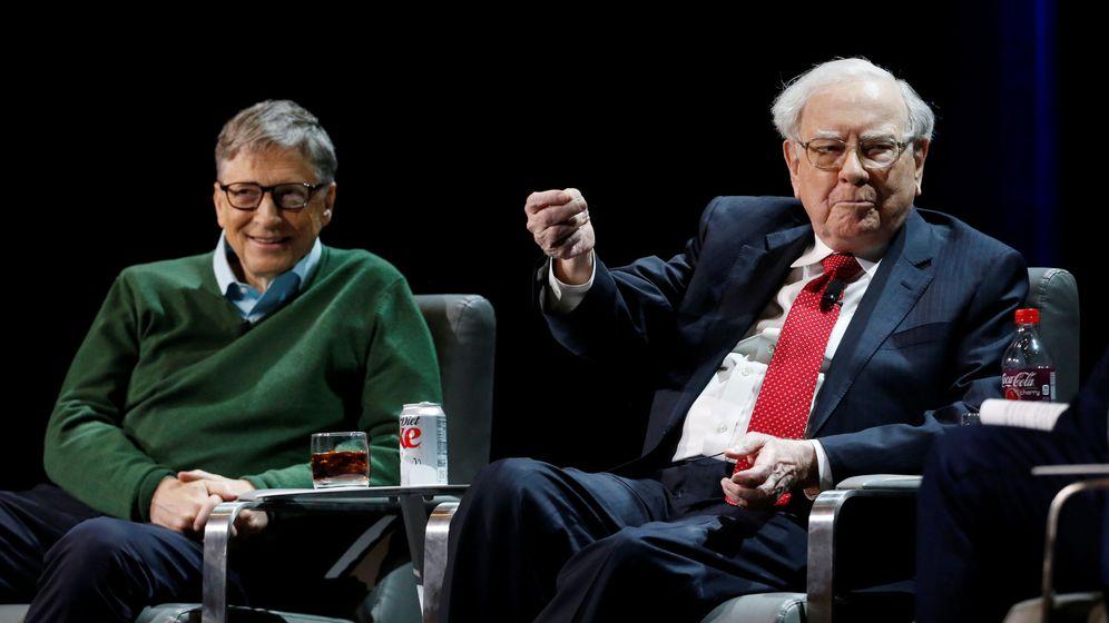 Foto: Bill Gates y Warren Buffett. (Reuters)