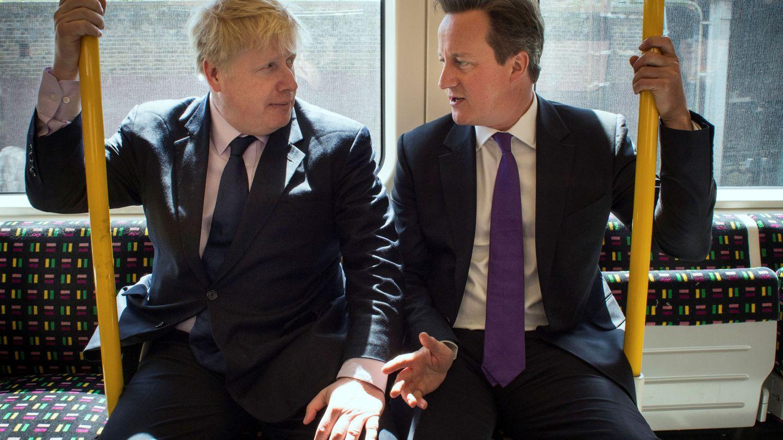 David Cameron y Boris Johnson, en una imagen de archivo. (Reuters)
