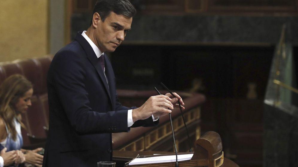 Foto: El presidente Pedro Sánchez, en el Congreso. (EFE)