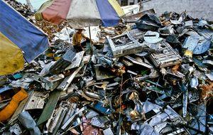 La capital mundial de la basura electrónica se envenena en plomo