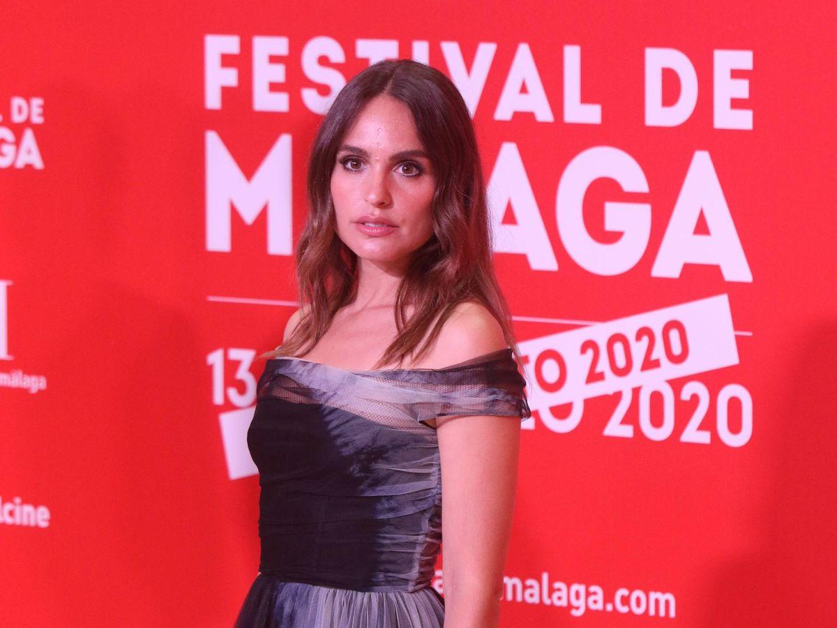 Foto:  Verónica Echegui, de Dior, en el Festival de Cine de Málaga. (Cordon Press)