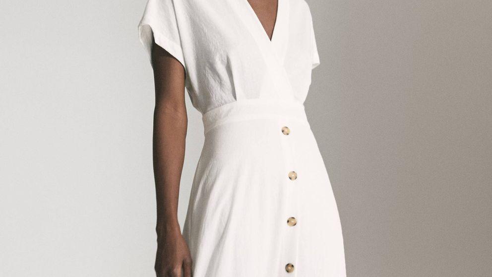 Nos hemos enamorado de este vestido de Massimo Dutti, para todo y todas