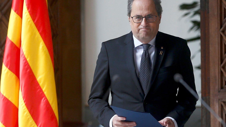 Torra rompe con ERC y convocará elecciones tras aprobar los Presupuestos
