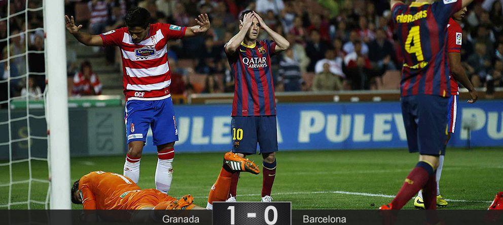 Foto: Un triste Barça cae en Granada y ahonda en su proceso de descomposición