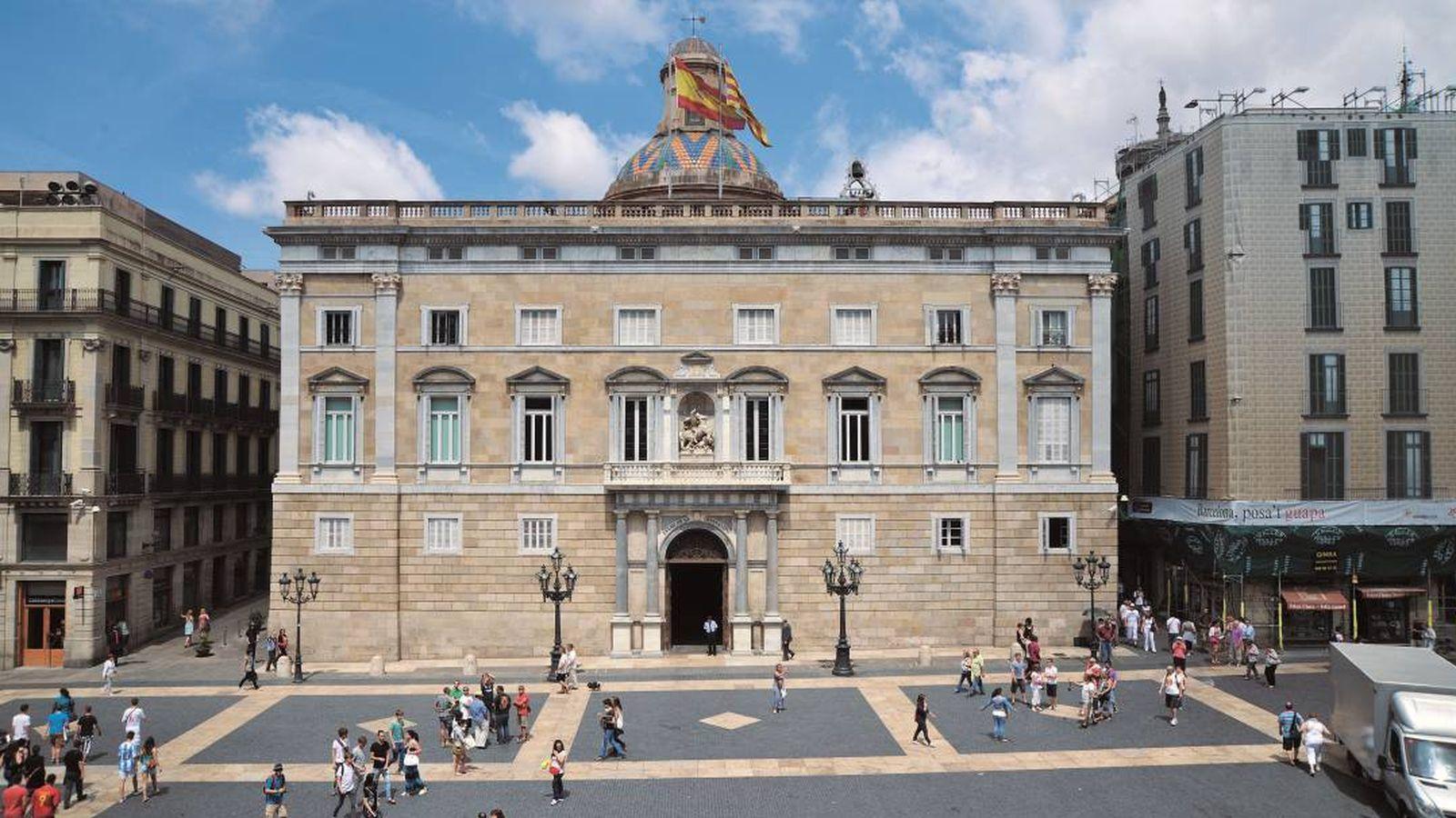 Foto: Palau de la Generalitat de Cataluña. (EFE)