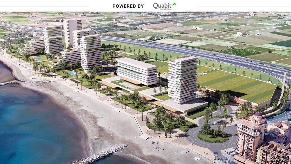 Quabit construirá 500 viviendas en la primera línea de playa de Alboraya