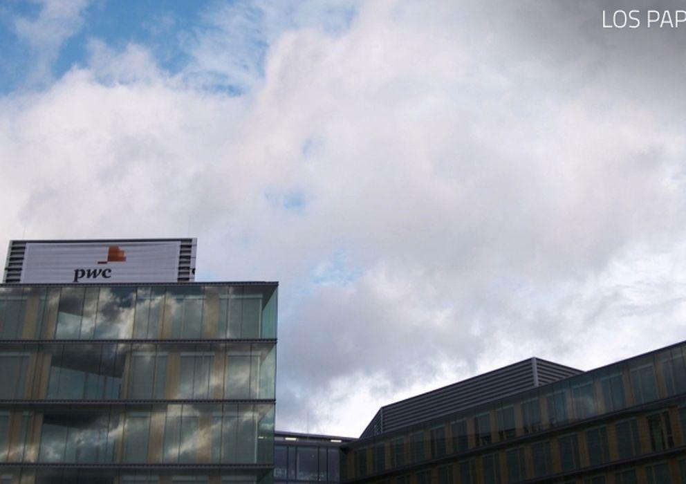 Foto: Nueva sede de PwC en Luxemburgo. (foto: Ola Christoffersson, SVT)