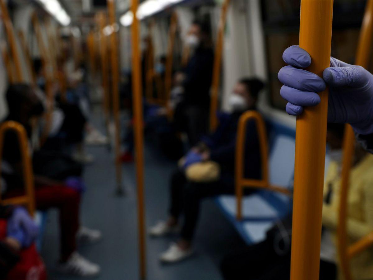 Foto: Imagen del metro de Madrid el 4 de mayo. (Reuters)