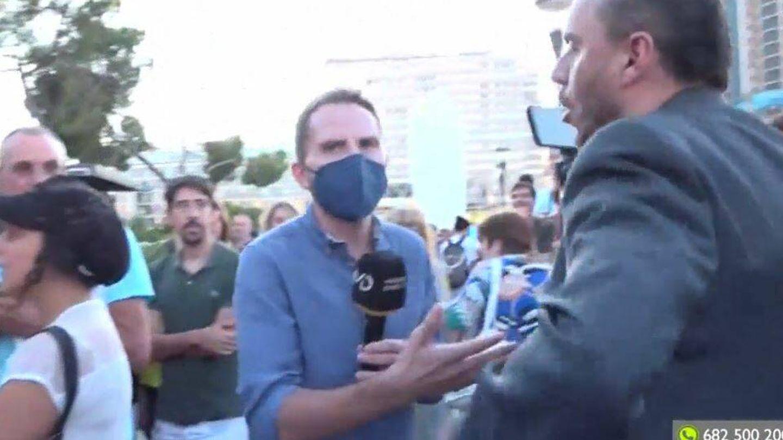 Antonio Campos, reportero de 'Madrid directo'. (RTVM)
