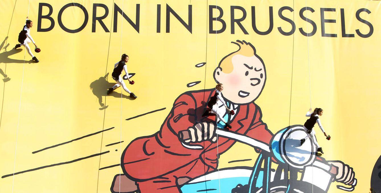 Foto: Bruselas es, sin duda, la ciudad que vio nacer al célebre personaje de cómic Tintín (Visit Brussels)