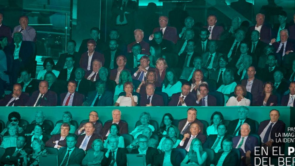 ¿Quién es quién en el palco del Bernabéu?