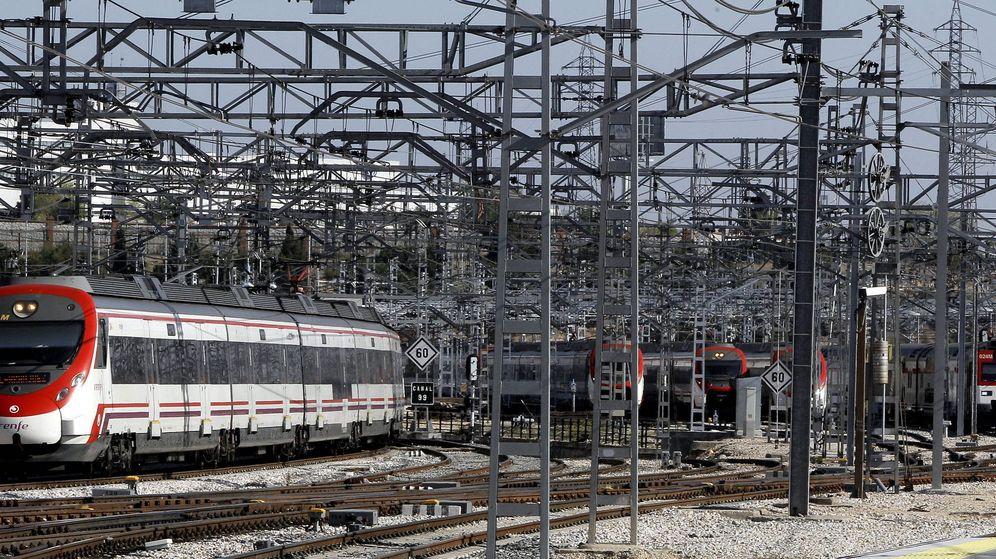 Foto: Infraestructura de tren en España. (EFE)