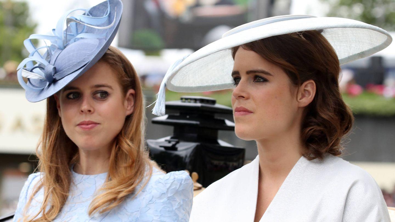 Beatriz y Eugenia de York. (Getty)