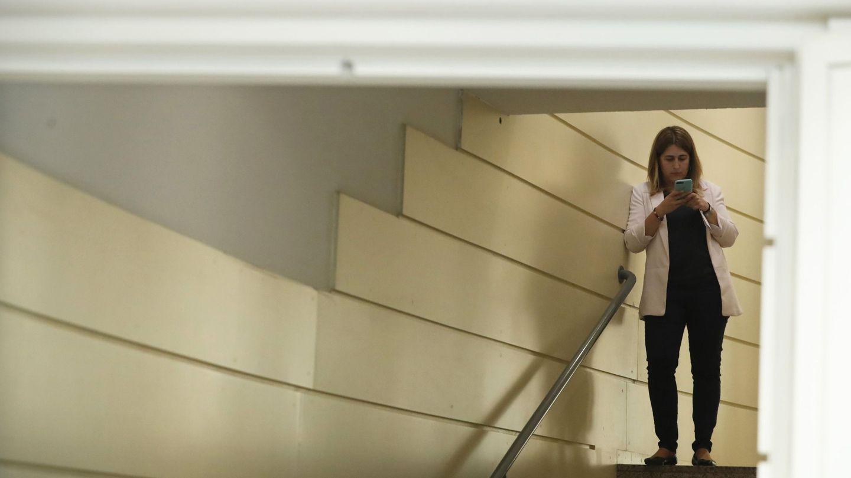 Marta Pascal, en el Parlament. (EFE)