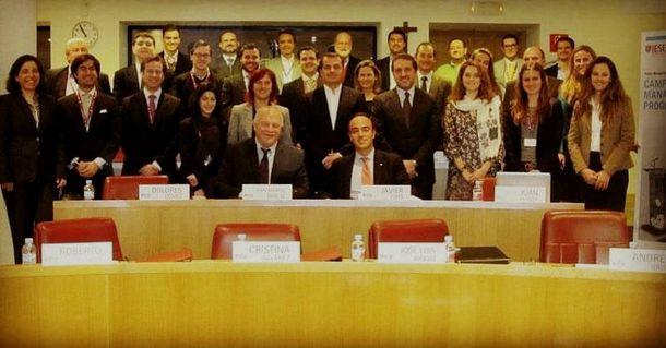 Foto: Clase magistral del gurú electoral Steve Jarding.