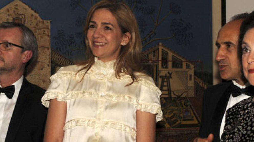 La infanta Cristina reaparece con una visita a la exposición de Miró en Washington