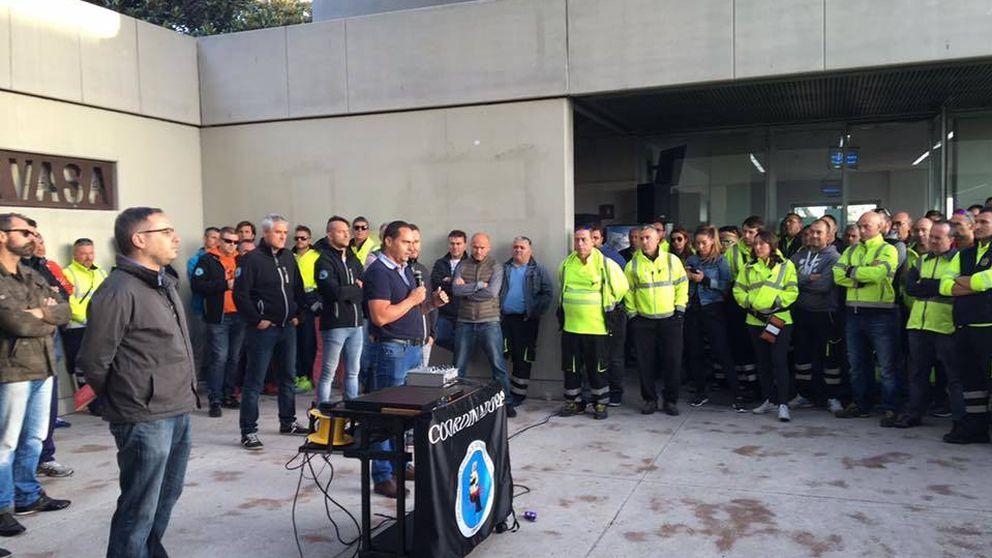 Los estibadores convocan huelgas para el 20, 22 y 24 de febrero por la reforma de Fomento