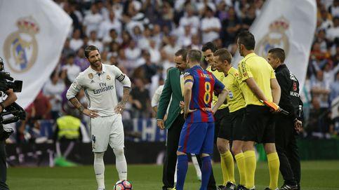 El Real Madrid homenajea a Sergio García antes del choque ante el Barcelona