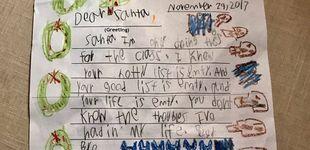 Post de La brutal carta de un niño a Papá Noel (y lo que contestó su madre)