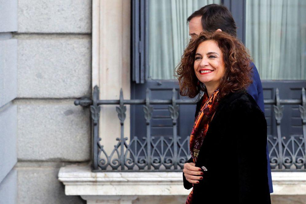 Foto: La ministra de Hacienda en funciones, María Jesús Montero, el pasado 7 de enero en el Congreso. (EFE)