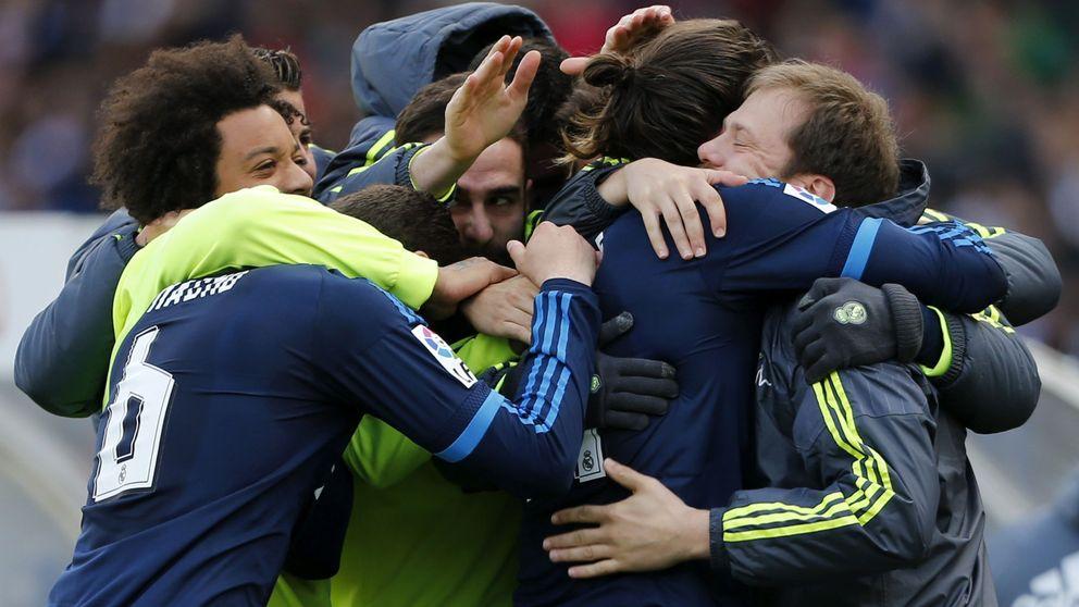 Bale hace buenas las rotaciones de Zidane, pero James continúa chirriando