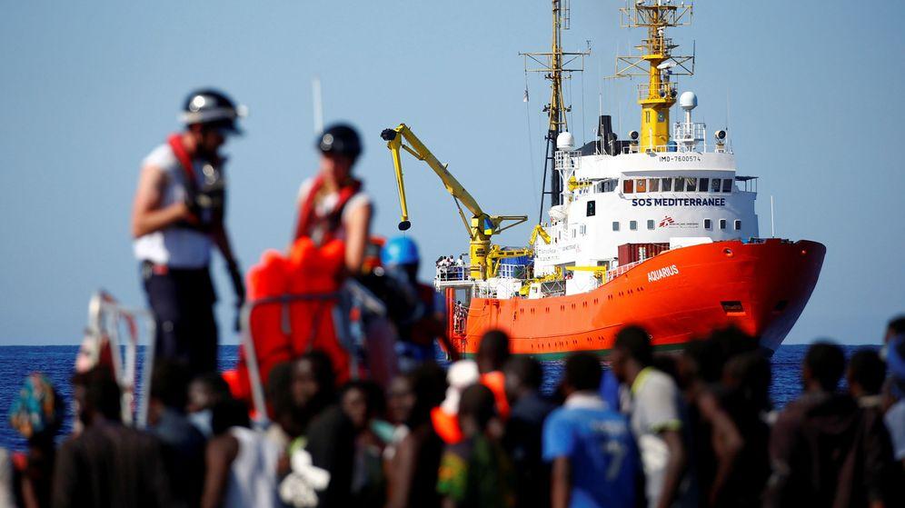 Foto: Rescate del Aquarius en el Mediterráneo   REUTERS Tony Gentile