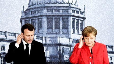 El presidente Macron visita Alemania