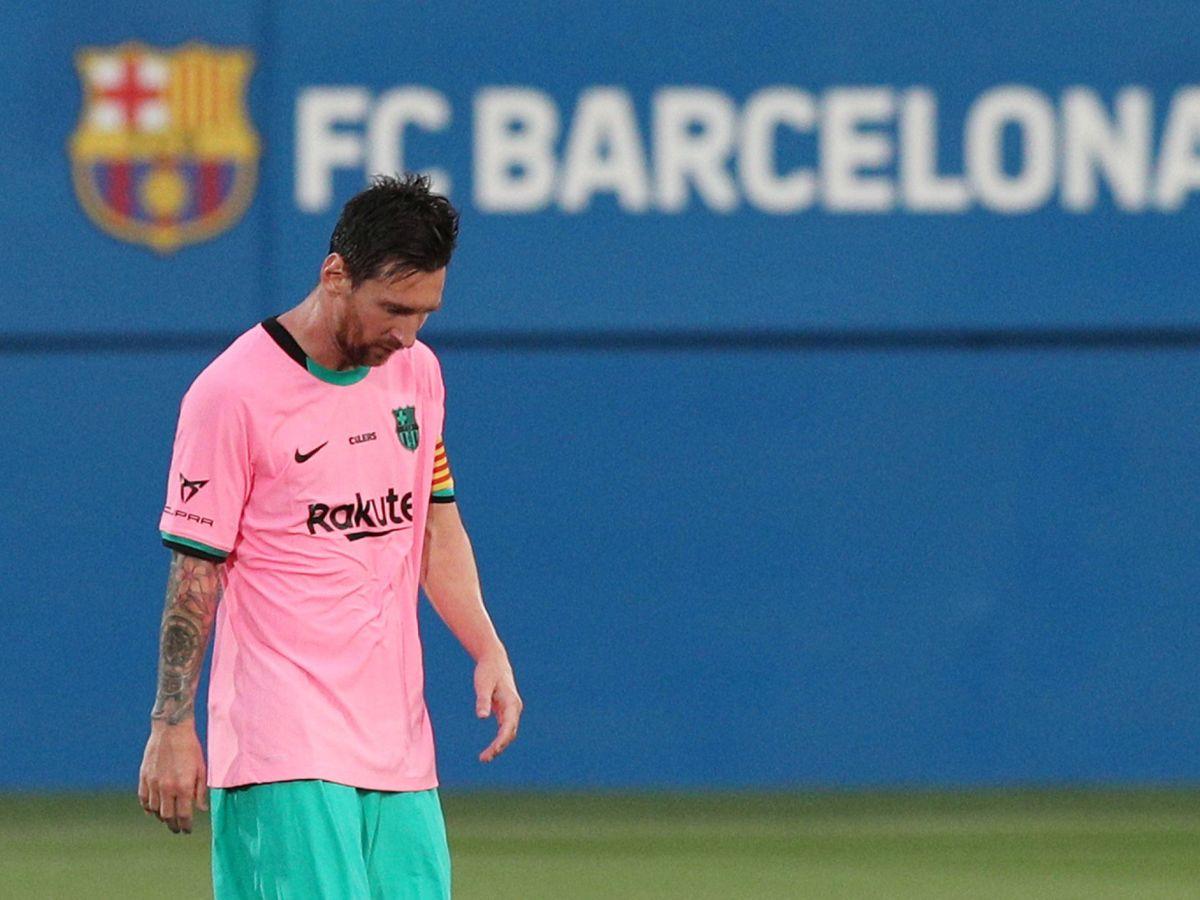 Foto: Leo Messi durante el partido de pretemporada del Barceloa contra el Girona. (Efe)