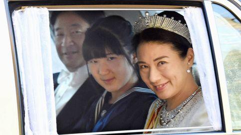 La otra princesa triste de Japón: Aiko no puede mantenerse en pie