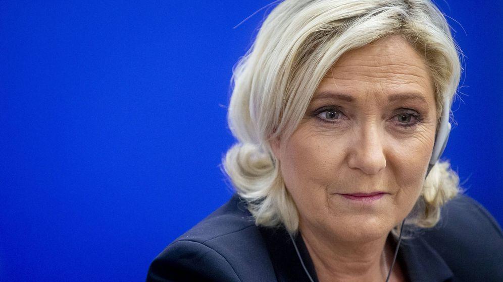 Foto:  La ultraderechista Marine Le Pen. (Getty)