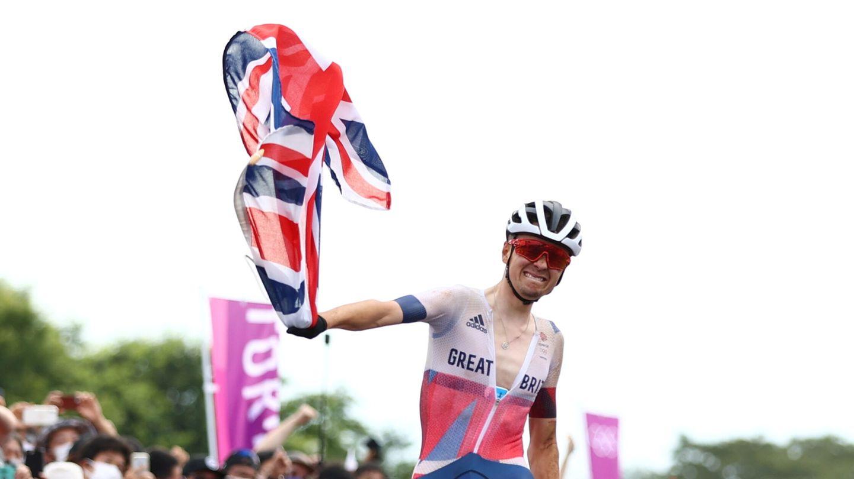 Tom Pidcock, medalla de oro en MTB. (Reuters)
