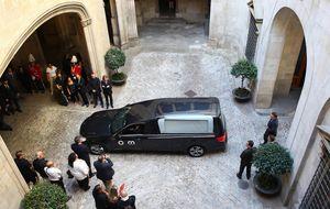 Peret descansará en el cementerio de Mataró junto a su abuelo