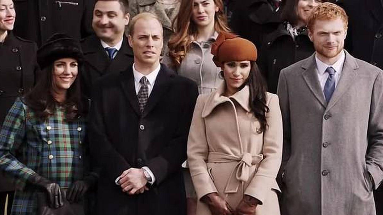 Fotograma de la película 'Harry & Meghan: Becoming Royal', de 2019. (Lifetime)
