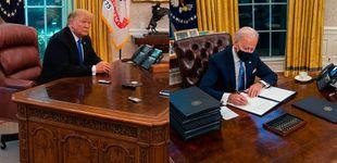 Post de Joe Biden elimina el botón de la Coca Cola light del despacho oval