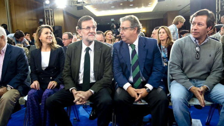 Rajoy llama al pp andaluz a trabajar ya para ganar autonómicas con mayoría