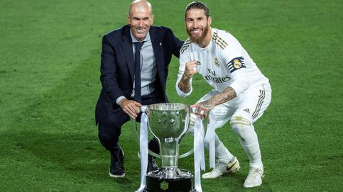 El futuro de Zinédine Zidane pasa por la renovación de Sergio Ramos