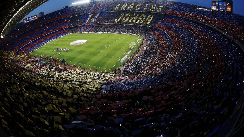 'Gràcies, Johan': Lágrimas en el emocionante y espectacular homenaje a Cruyff