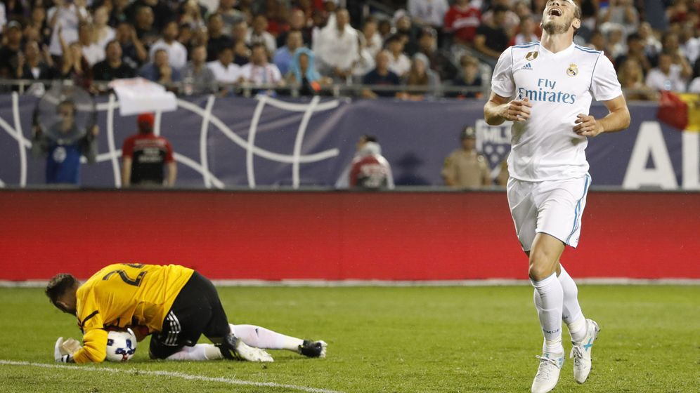 Foto: Bale no ha hecho destacado en esta pretemporada. (EFE)