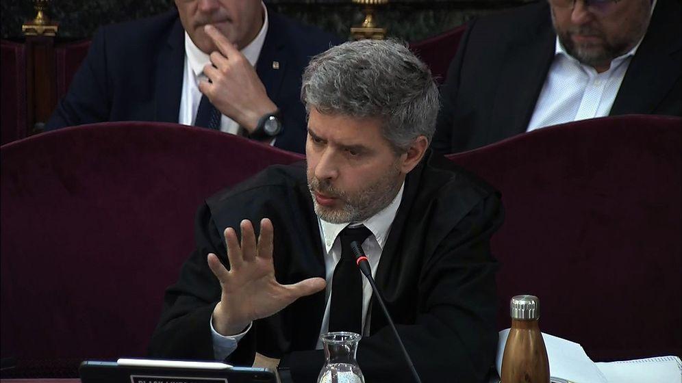 Foto: Andreu Van Den Eynde, abogado de Oriol Junqueras y Raül Romeva. (EFE)