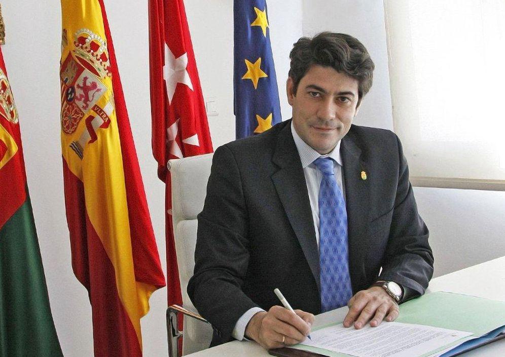 Foto: David Pérez, alcalde de Alcorcón