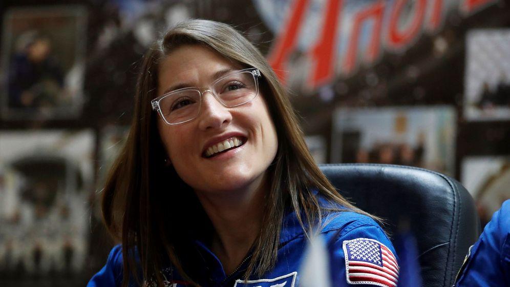 Foto: La astronauta koch bate el récord de una mujer en el espacio: 289 días. Foto: EFE Sergei Ilnitsky