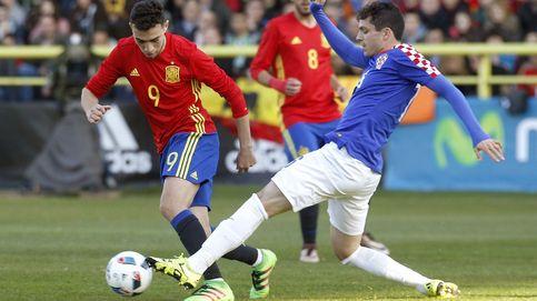 Croacia destroza a la Selección sub-21 y le complica su clasificación a la Euro