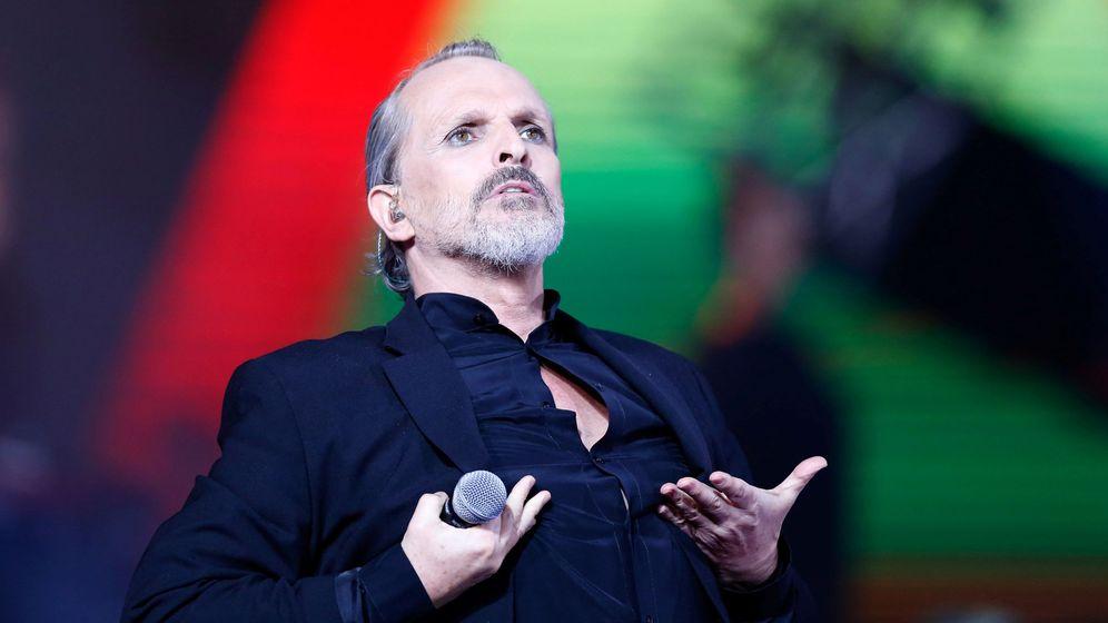 Foto: Miguel Bosé, durante una actuación. (Reuters)