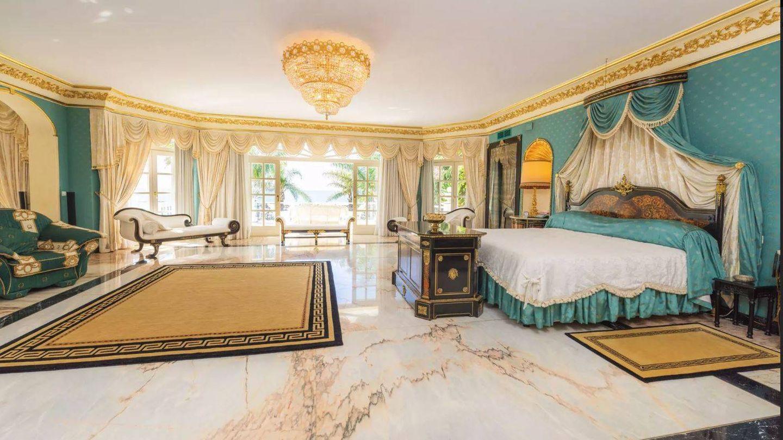 Dormitorio principal de El Martinete, Marbella. (C.A.)