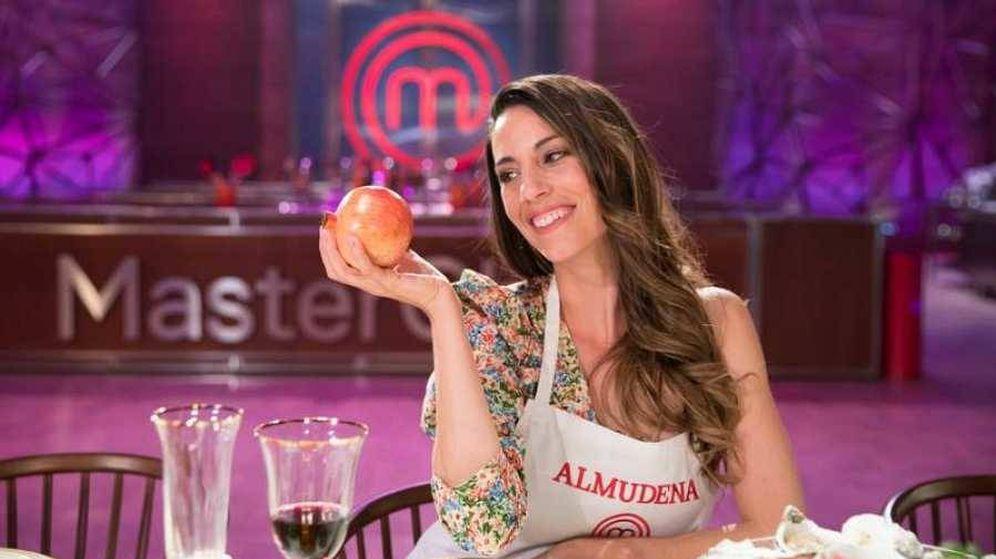 Foto: Almudena Cid, concursante de 'MasterChef Celebrity'. (TVE)