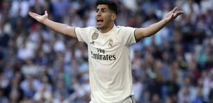 Post de El sufrimiento de Marco Asensio en el Real Madrid (si quiere dejar de ser 'Ausencio')