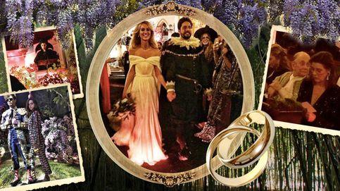 La boda Halloween de Julio Santo Domingo y Nieves Zuberbühler