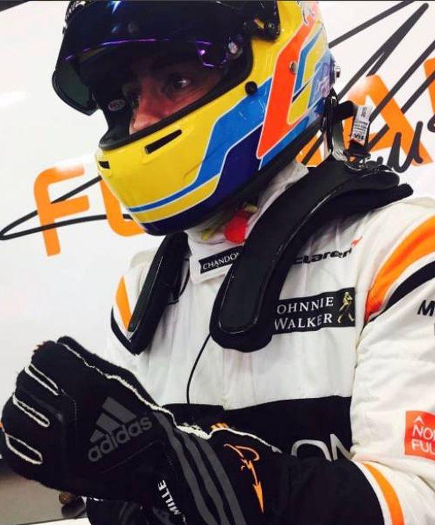 Foto: Fernando Alonso, piloto de McLaren. (Foto: Instagram FernandoAlo_oficial)